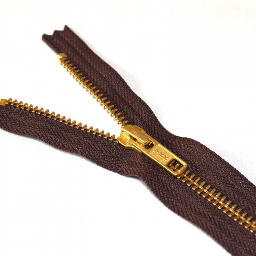 Metal Jean Zips (Straight)