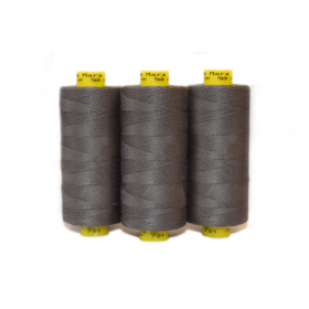 Mara 30's Hand Button Long Staple Spun Thread (100% Polyester)