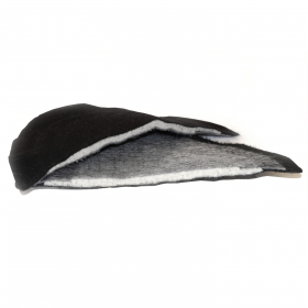 P33 - Shoulder Pads Large Shaped (With Wadding)