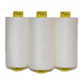 Mara 70's Machine Button Long Staple Spun Thread (100% Polyester)