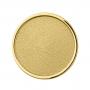 BB21 - Matt, Rimmed, Gold plated